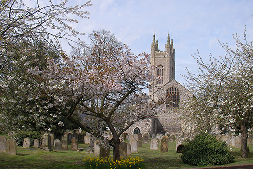 St Mary's Church in Bungay.