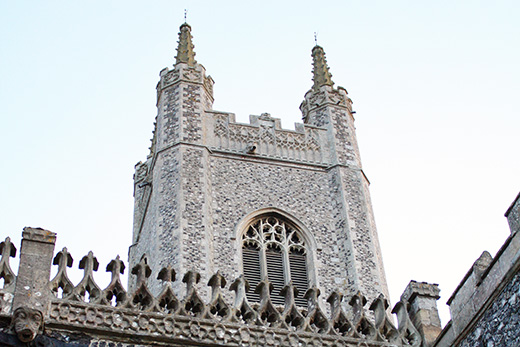 St Mary's Tower.