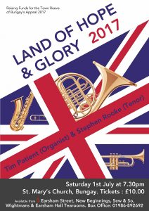 Land of Hope & Glory at St Mary's Church Bungay.